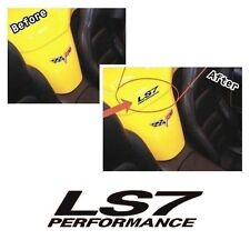 MG2013 - LS7 Performance Tonneau decal/graphic fits Corvette Z06