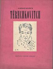 CONSTANTIN TERECHKOVITCH par MAXIMILIEN GAUTHIER Pierre Cailler Genève 1948