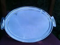 ELKINGTON Art Deco Silver Plate Drinks Cocktail Tray 1920s Quality Medium Size