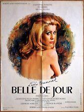 BELLE DE JOUR (1967) * Catherine DENEUVE  * Luis BUNUEL * affiche originale