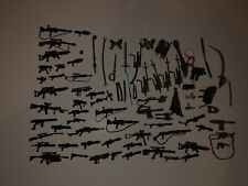 Lot of 82 Random Action Figure Weapons Accessories Star Wars Halo Other ?