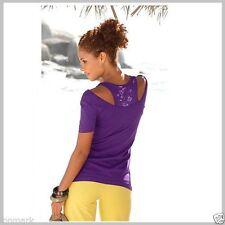 Cotton Blend Crew Neck Sleeveless Tops & Shirts for Women