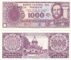 PARAGUAY BANCONOTA 1.000 GUARANIES MAI CIRCOLATA