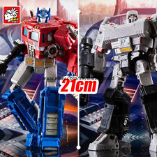 BPF Transformers Optimus Prime Megatron Siege Expand 8in Action Figure Kids Toys