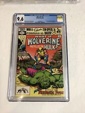 What If? (1982) # 31 (CGC 9.6 WP) Hulk 181 Wolverine