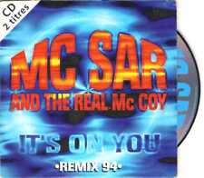 M.C. Sar & The Real McCoy - It's On You (Remix 94) - CDS -1994 - Eurodance 2TR