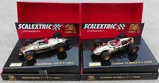 pack 50 Aniversario Cooper Climax y Ferrari 156 F1 Exin Triang Scalextric SCX