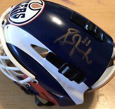 Grant Fuhr Signed Autographed Edmonton Oilers Mini Goalie Mask Helmet