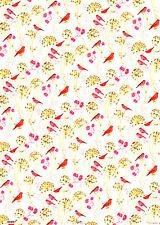 *DANIELA DRESCHER*Geschenkpapier 50 x 70cm*Vögel*Impressionen*