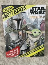 Star Wars The Mandalorian The Child CRAYOLA ART with EDGE Coloring Posters Book