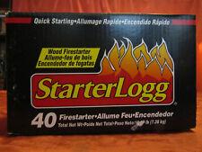 StarterLogg Firestarter Blocks, 40-Count Quick Starting