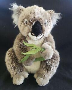 "FAO Toys R Us Plush Koala Bear with Bamboo, 12"", 2014"