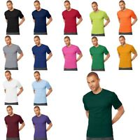 Hanes Men's TAGLESS Cool DRI Performance T-Shirt Short Sleeve Athletic (4820)