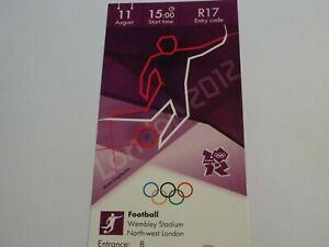 London 2012 Olympic Games FOOTBALL ticket 11th Aug GOLD MEDAL MATCH CAT A !