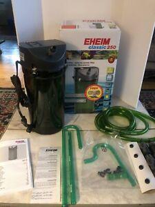 Eheim Classic 250 2213 Fish Tank/Aquarium Filter New