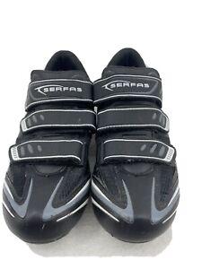 SERFAS Mountain Bike Shoes MENS 8.5 Black White