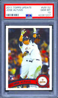 2011 Topps Update Jose Altuve Rookie RC US132 GEM MINT PSA 10 QUANTITY DISCOUNT!