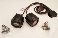 Kit coppia Faretti Moto a LED Universali Impermeabili con Cablaggio