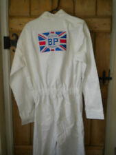 More details for goodwood revivaloveralls bp reproduction embroidered cotton med seconds