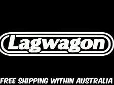 lagwagon decal sticker x 2 car ute jdm drift hoon toolbox punk rock