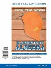 Elementary Algebra, Books a la Carte Edition (3rd Edition), Sullivan III, Michae