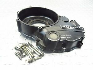 1992 91-98 DUCATI 900SS 900 SS OEM CLUTCH COVER SIDE ENGINE MOTOR CASE