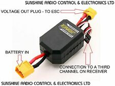 RC Turnigy ENOS In-Line Electronic Booster For Radio Controlled Drift Cars New