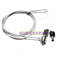 Notebook Laptop Computer Lock Security Security China Cable Chain With Key New