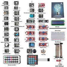 SunFounder 37 modules Arduino Sensor Kit Project Book for Arduino R3 Mega2560