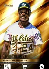 2018 PERENNIAL GOLD BASE RICKEY HENDERSON 100cc Topps Bunt Digital Card