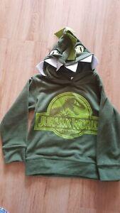 Jurassic World Boys Dinosaur Hoodie Green  T Rex  This Is The last one!