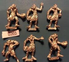 Crypt Ghouls x6 - Vampire Counts Army - Warhammer / Age of Sigmar - Metal - 1992