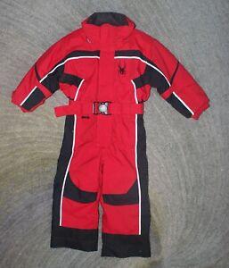 Spyder Boys Red Snow Suit - Size 3 - EUC