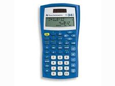 Texas Instruments ti-34 II solar/batería escolar calculadora calculadora rápida