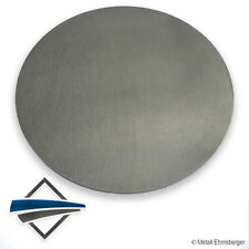 Aluscheibe , Aluronde  80 x 12 mm Material:  AlMg3