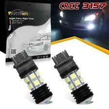 Pack2 3157 3156 Super Power Led 4114 Reverse Backup Light Cree Xenon White Bulbs