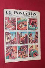 rivista a fumetti IL BALILLA Supplemento Popolo d'Italia ANNO XII N.24 (1934)