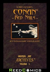 CONAN RED NAILS ORIGINAL ART ARCHIVES HARDCOVER Barry Windsor Smith Artist Ed.