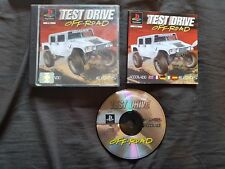 TEST DRIVE OFF ROAD Sony Playstation 1 Game PS1