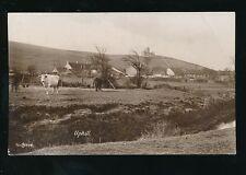 Somerset Weston-super-Mare UPHILL across fields 1932 RP PPC