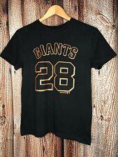 San Francisco SF Giants Youth Boys T-Shirt #28 Posey Size Medium 10-12 Top
