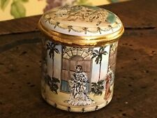 English Halcyon Days Trinket Box Souvenir Metropolitan Opera 1986
