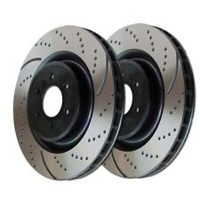 GD263 EBC Turbo Grooved Brake Discs Front (PAIR) fits HONDA Legend ROVER 800