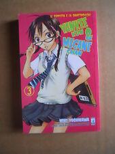 YANKEE-KUN & MEGANE-CHAN Vol.3 - Miki Yoshikawa Star Comics   [G371G]