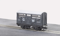 Peco NR-45W N Gauge GWR Cattle Wagon