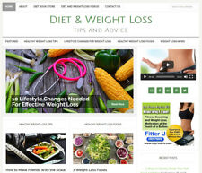 [NEW] * DIET & WEIGHT LOSS * website business for sale w/ DAILY AUTO UPDATES