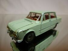 DINKY TOYS 514 ALFA ROMEO GIULIA TI - PALE GREEN 1:43 - GOOD CONDITION