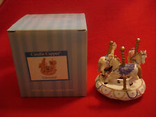 Old Virginia Candle Company Candle Capper Topper CAROUSEL - with box