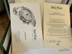 Paul Picot Watch Box Empty Large Inner Outer with papers for Technicum