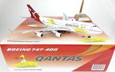 """Qantas B747-400 Reg: VH-OEJ """" Olympic2016 """" JC Wings 1:200 Diecast Model  XX2416"""